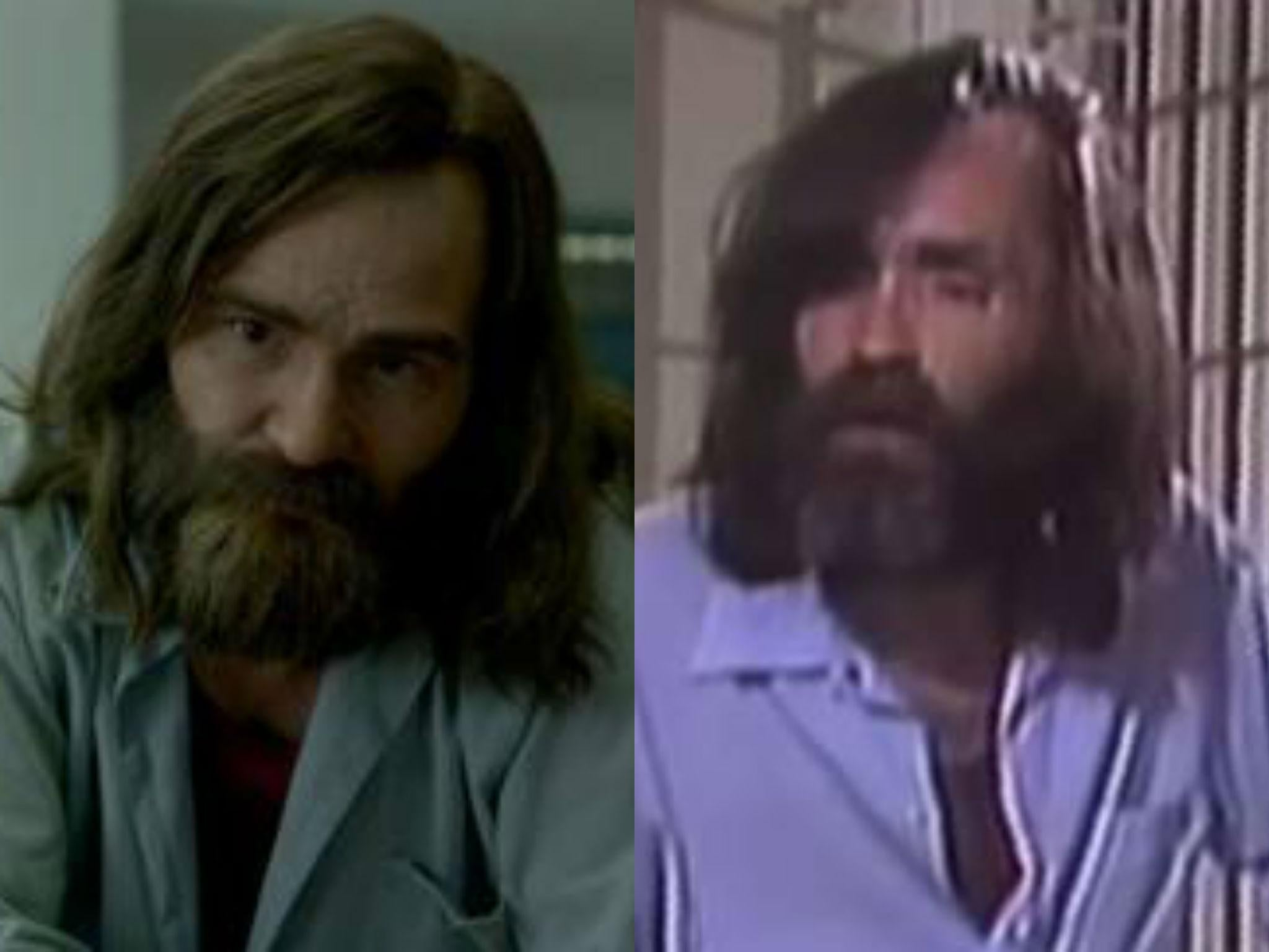 Charles Manson's 60 Minutes interview side-by-side with Mindhunter scene is chilling