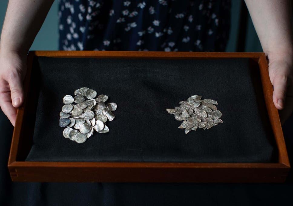 Detectorists 'hit jackpot' in finding huge hoard of Norman