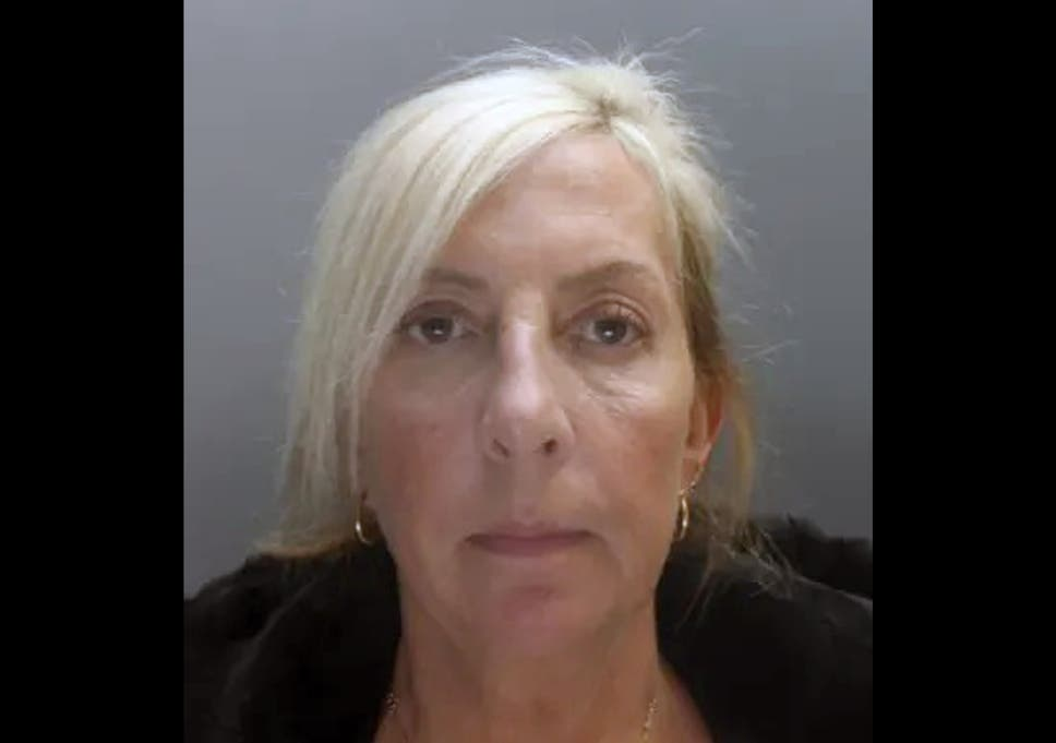 Care worker Tracey Burrows, pictured, was convicted of gross negligence manslaughter after she left a disabled woman to starve