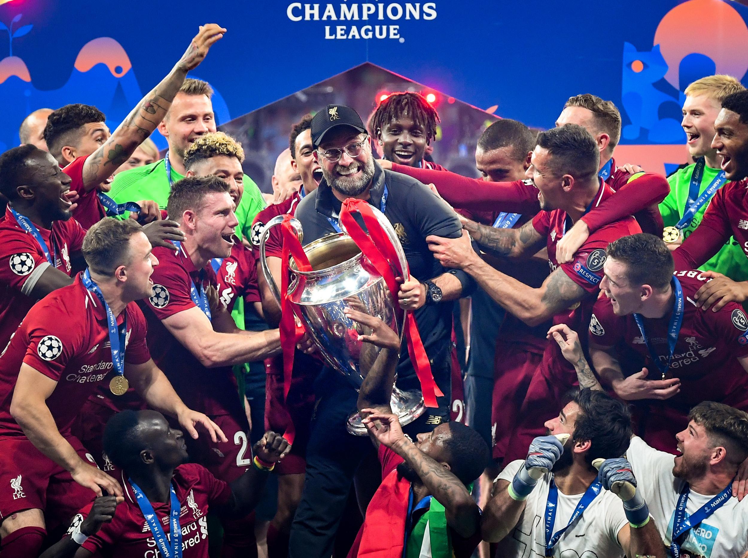 liverpool champions league 2019
