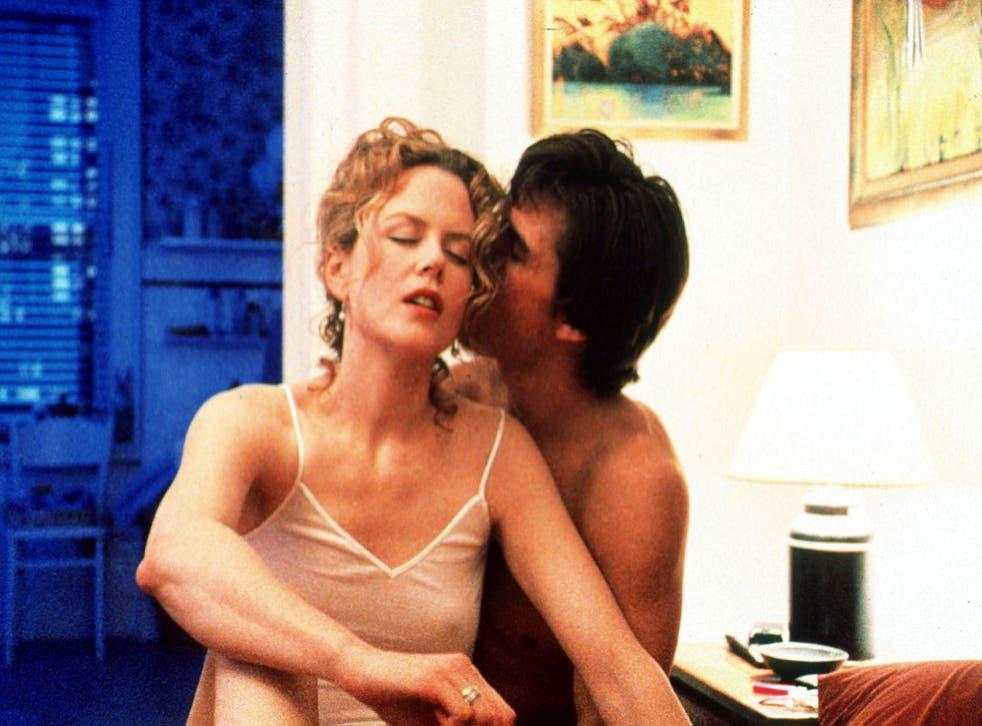 Nicole Kidman and Tom Cruise in Eyes Wide Shut