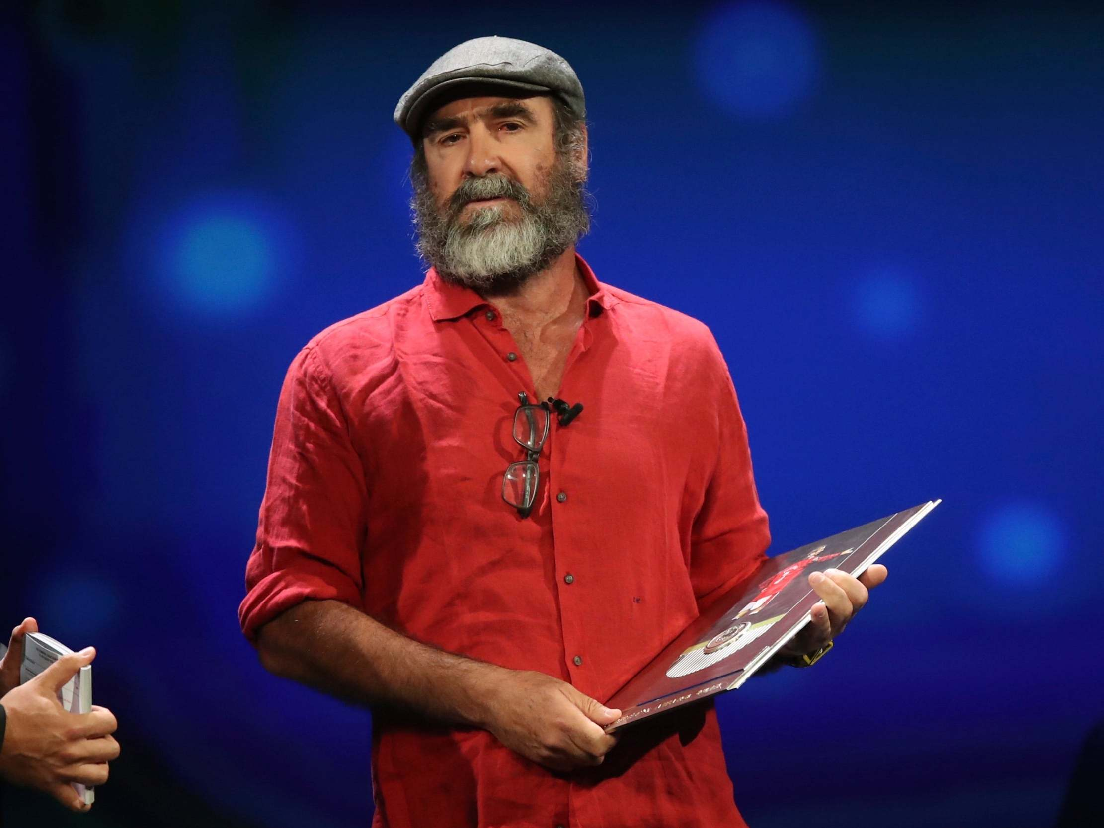 Eric Cantona leaves Champions League draw audience bemused with Shakespeare quote in speech