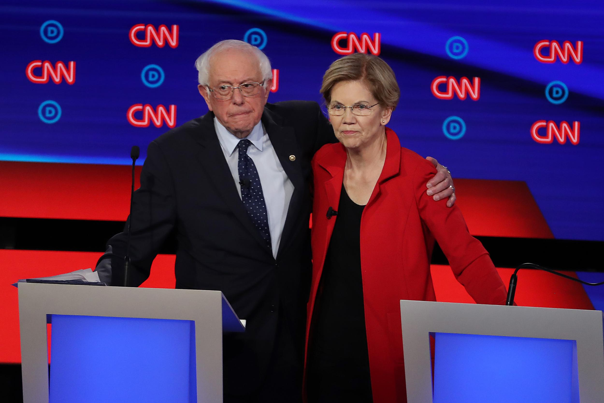 Bernie Sanders and Elizabeth Warren are not 'the same'. One of them thinks it's OK to buy elections