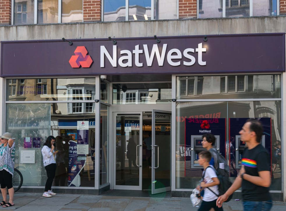 Taxpayer-backed RBS, which owns NatWest, closed almost three quarters of its branches
