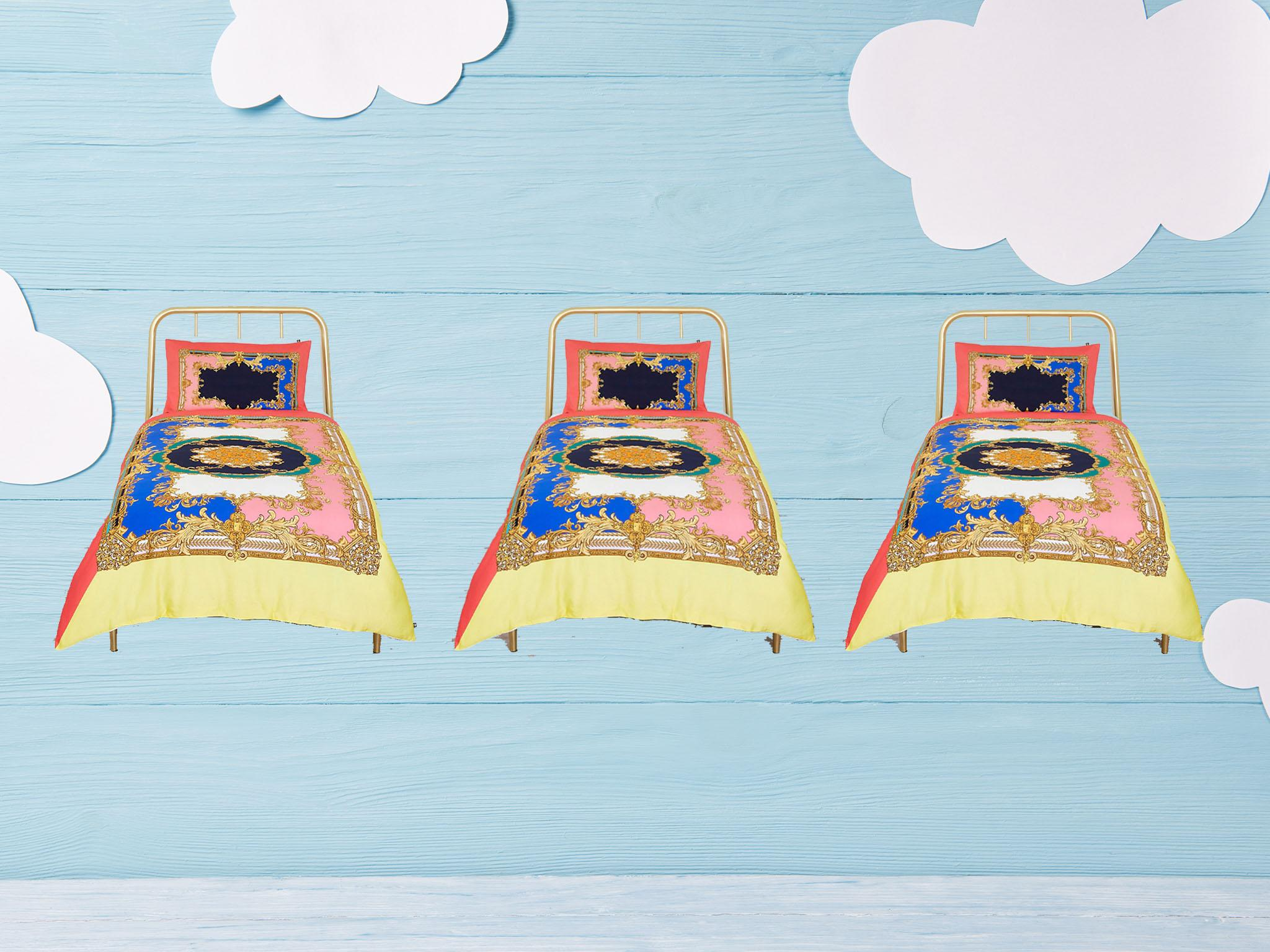 Single Cover Sets Bedding Duvet Cover Set Easy Care Plain Dyed Quilt Cover Sets