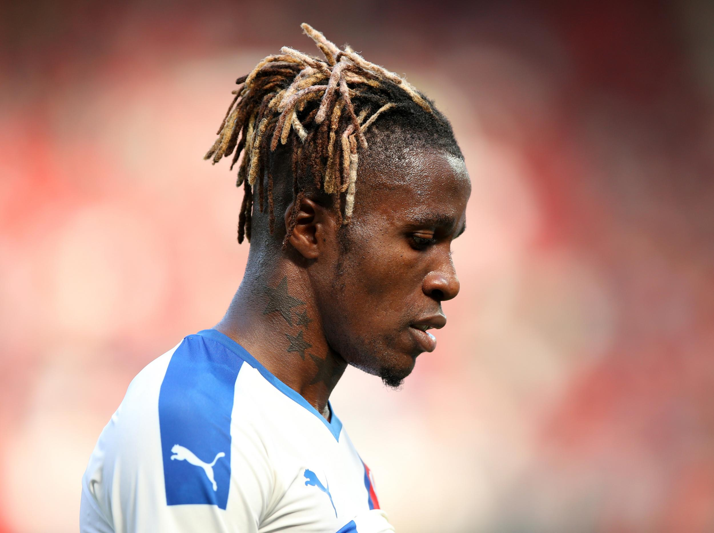 Wilfried Zaha: Crystal Palace take action after racist abuse on social media