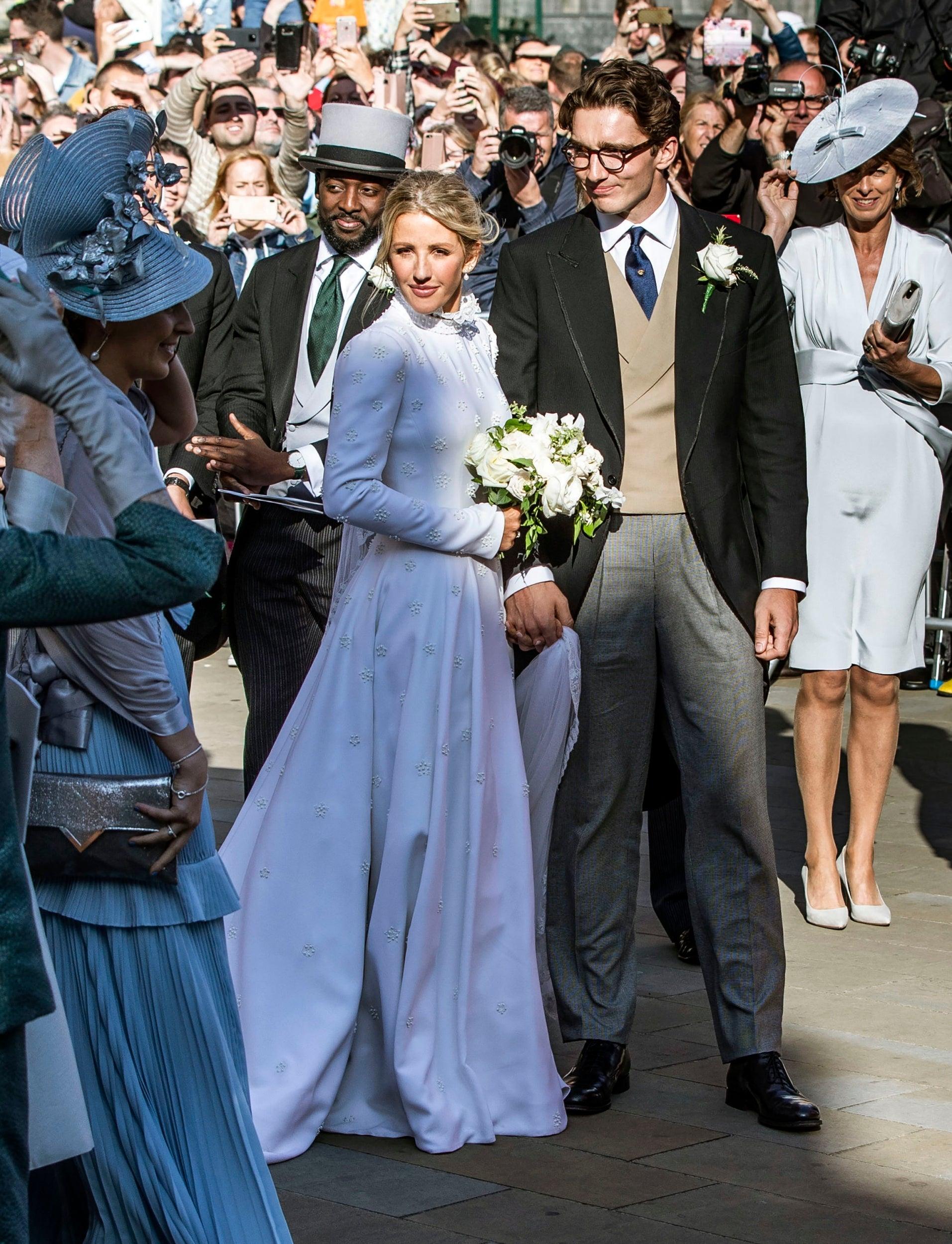 Ellie Goulding Wears Bespoke Victorian Inspired Chloe Dress