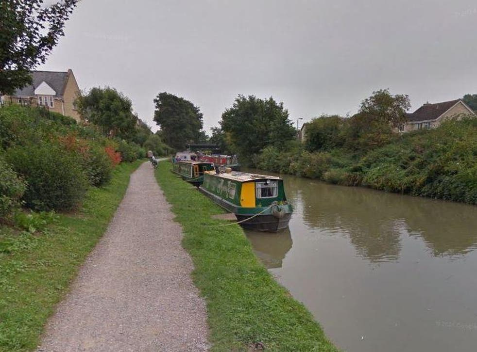 The canals of Bradford-on-Avon, Wiltshire