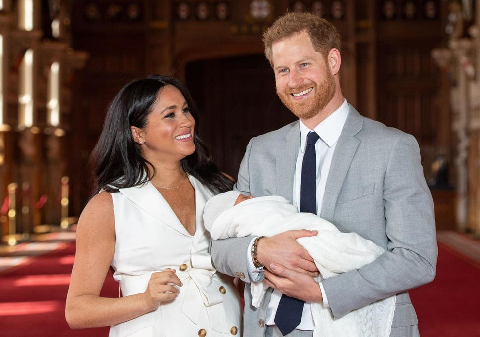 Meghan and harry and archie