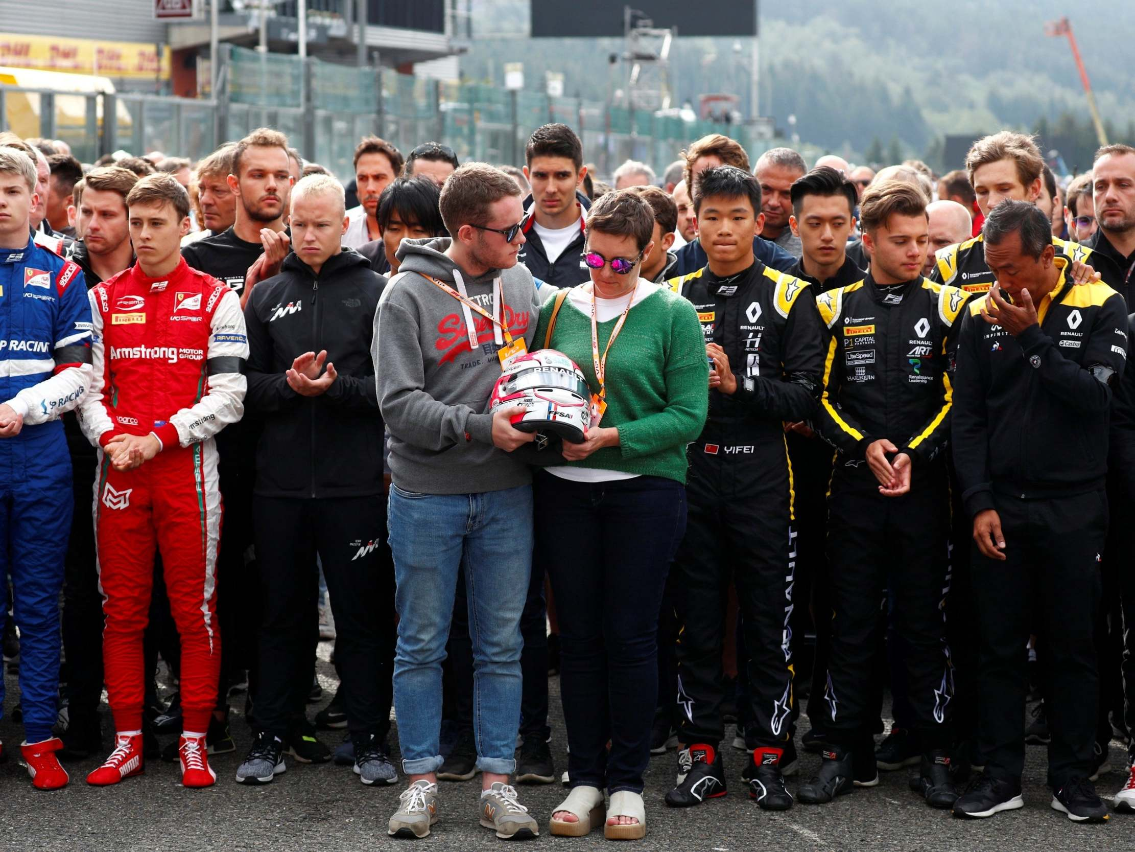 Belgian Grand Prix LIVE: Start time, grid, latest news and updates as F1 mourns Anthoine Hubert after death