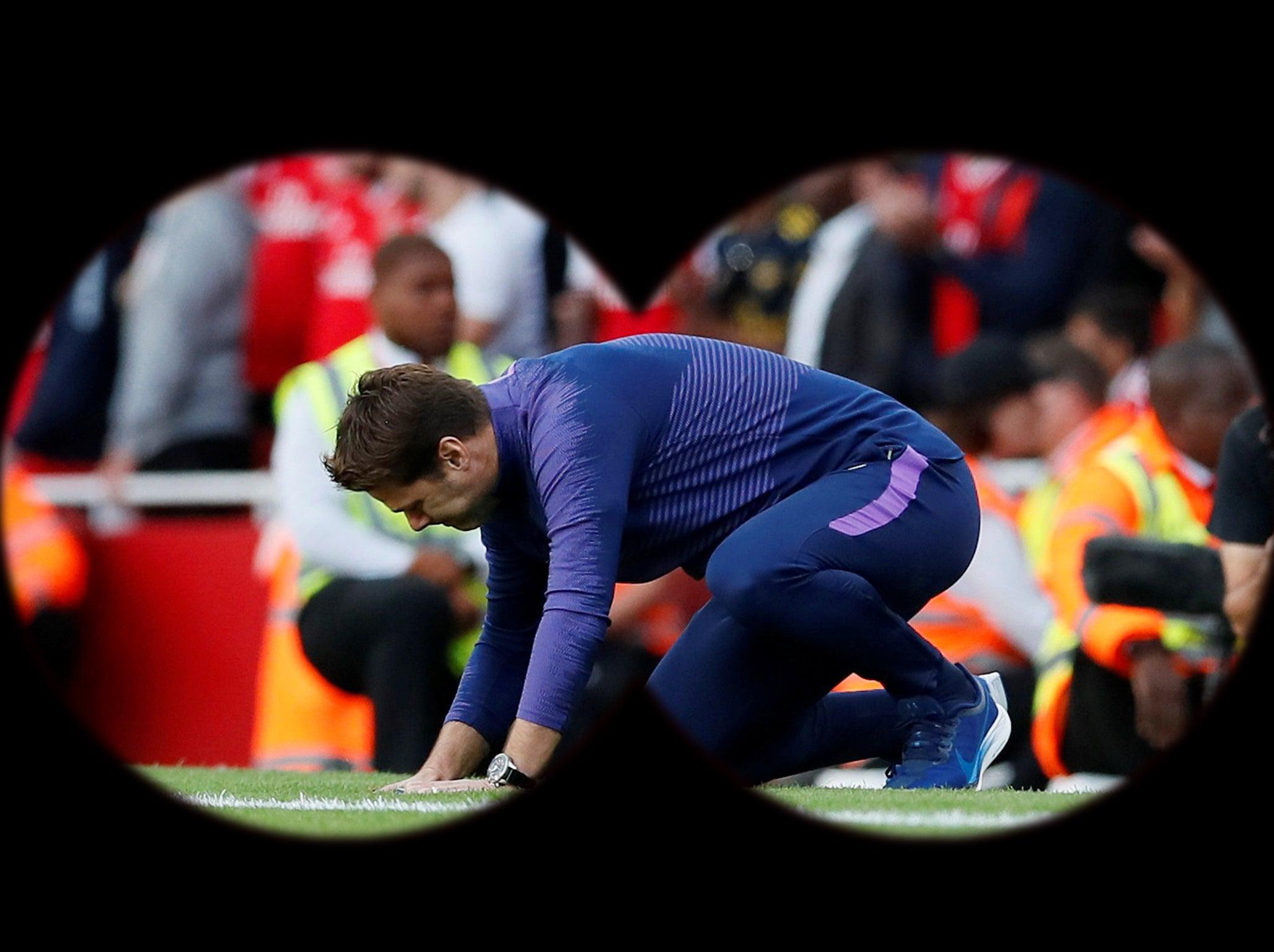 Tottenham boss Mauricio Pochettino under the spotlight