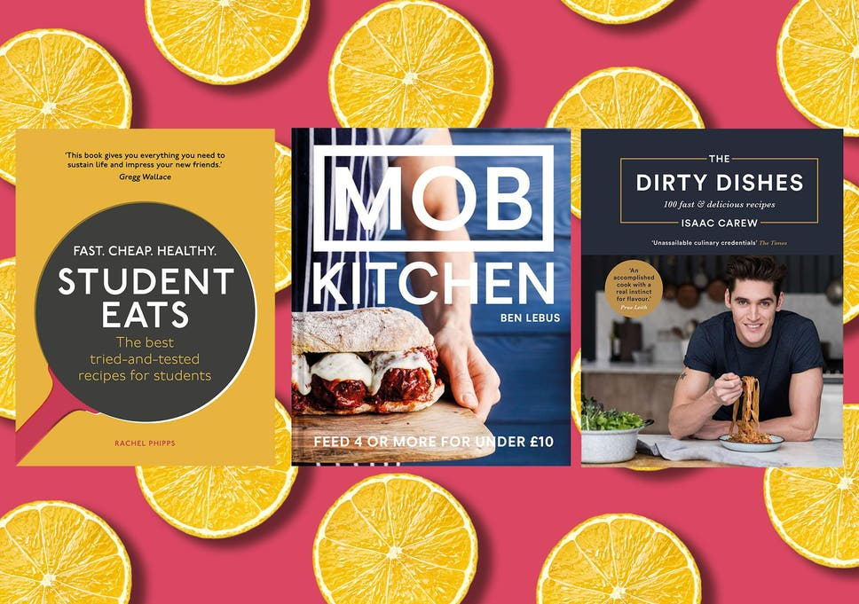 Best student cookbooks for simple, cheap and delicious meals