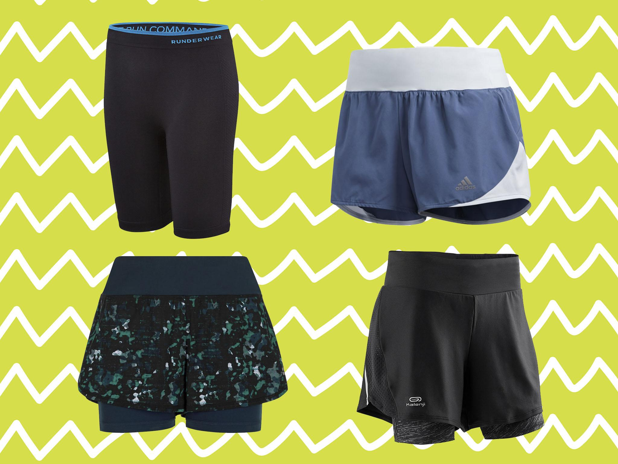 Men Liner Running Short Training Quick Drying Sports Shorts Pants 2 In 1 Summer