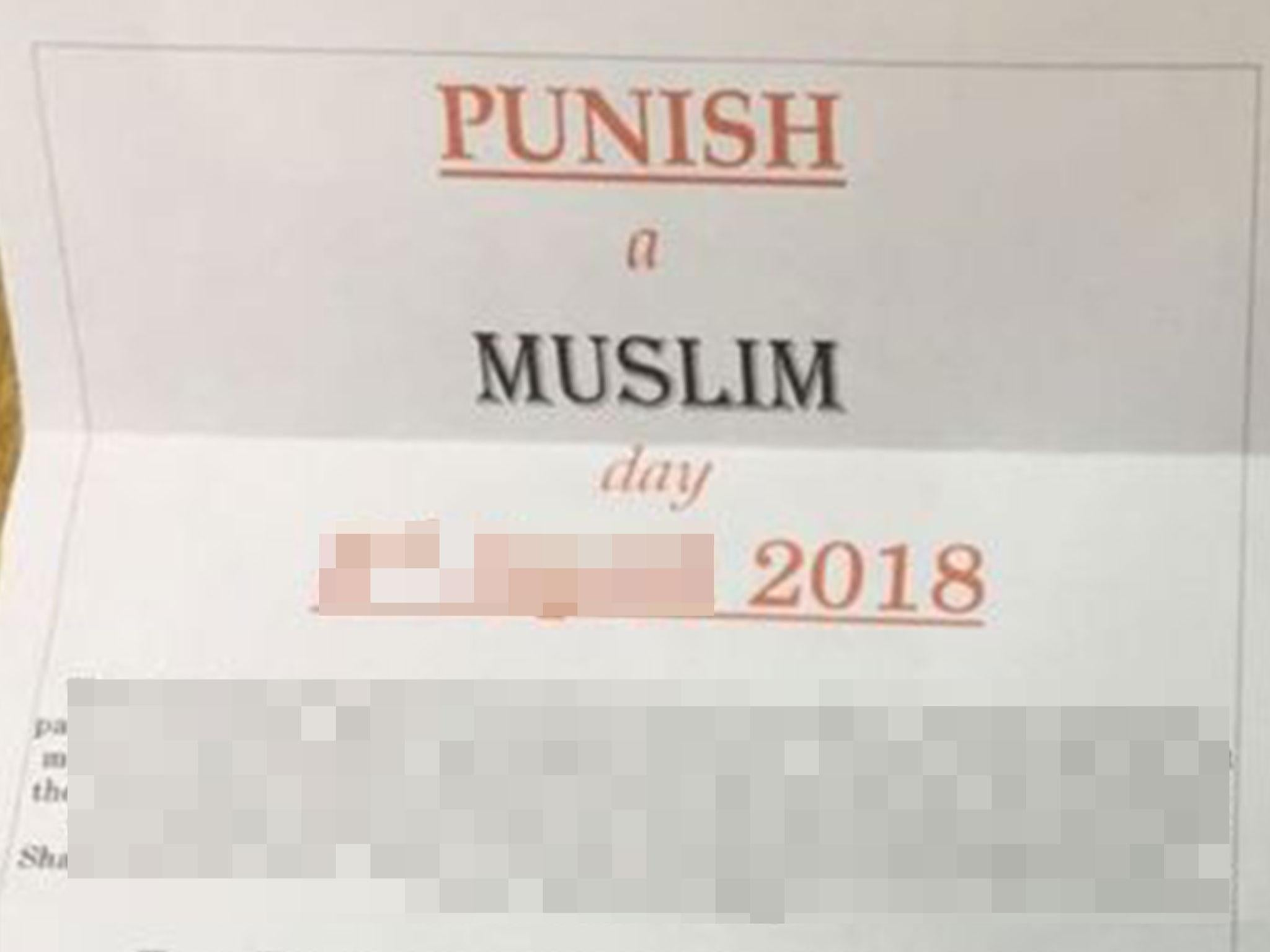 David Parnham: White supremacist behind 'Punish a Muslim Day' responsible for 11 years of malicious letter campaigns