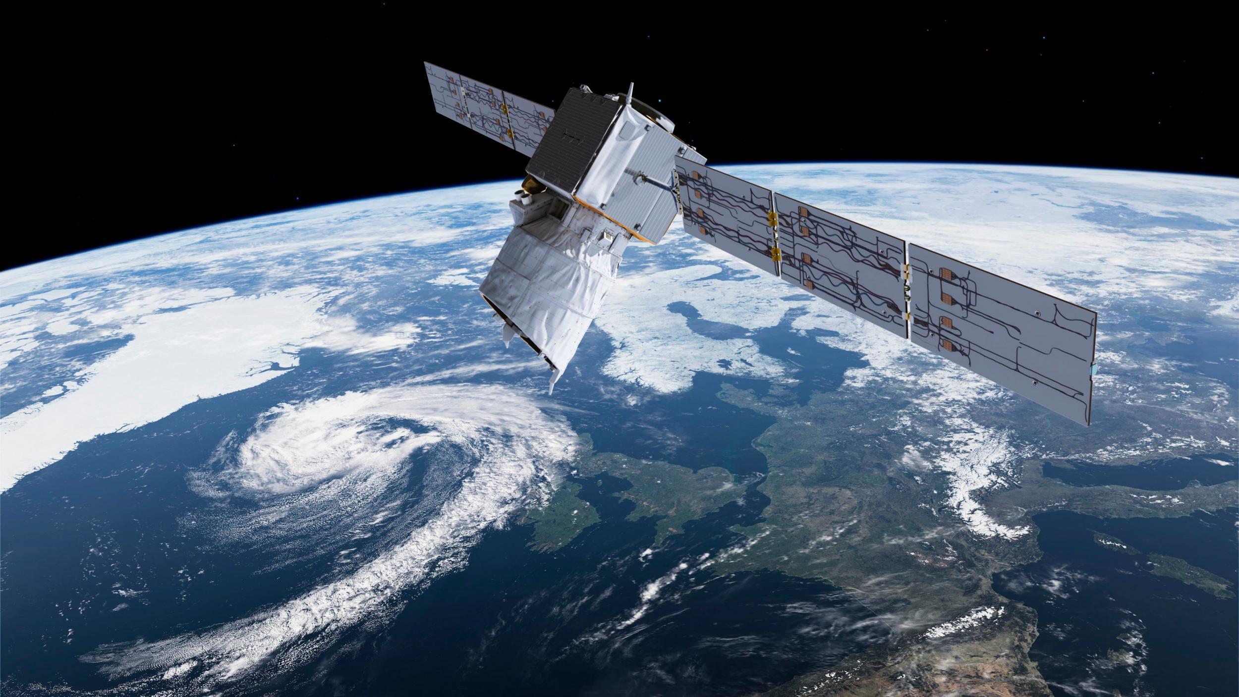 Satellite forced to dodge 'mega constellation' floating
