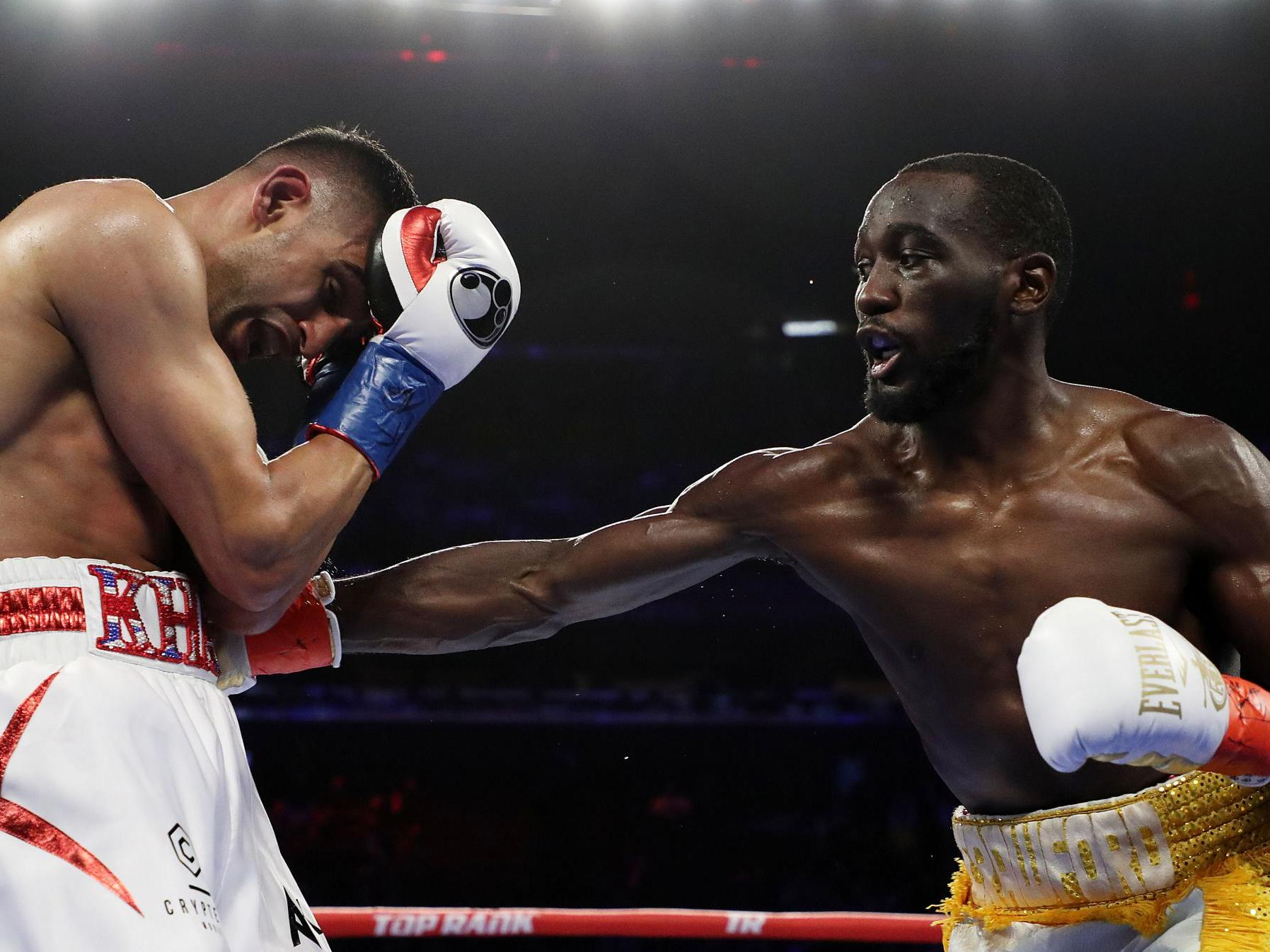Terence Crawford and Oscar Valdez considered by Top Rank for UK fights after Vasyl Lomachenko success vs Luke Campbell