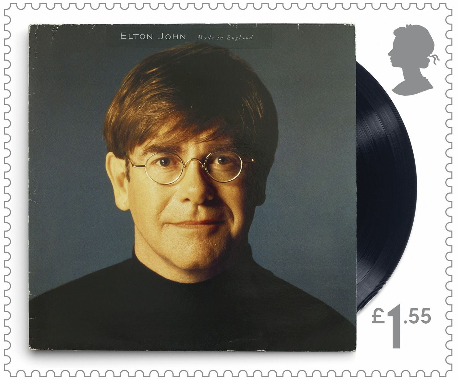 Sir Elton John's music celebrated in Royal Mail stamps   The