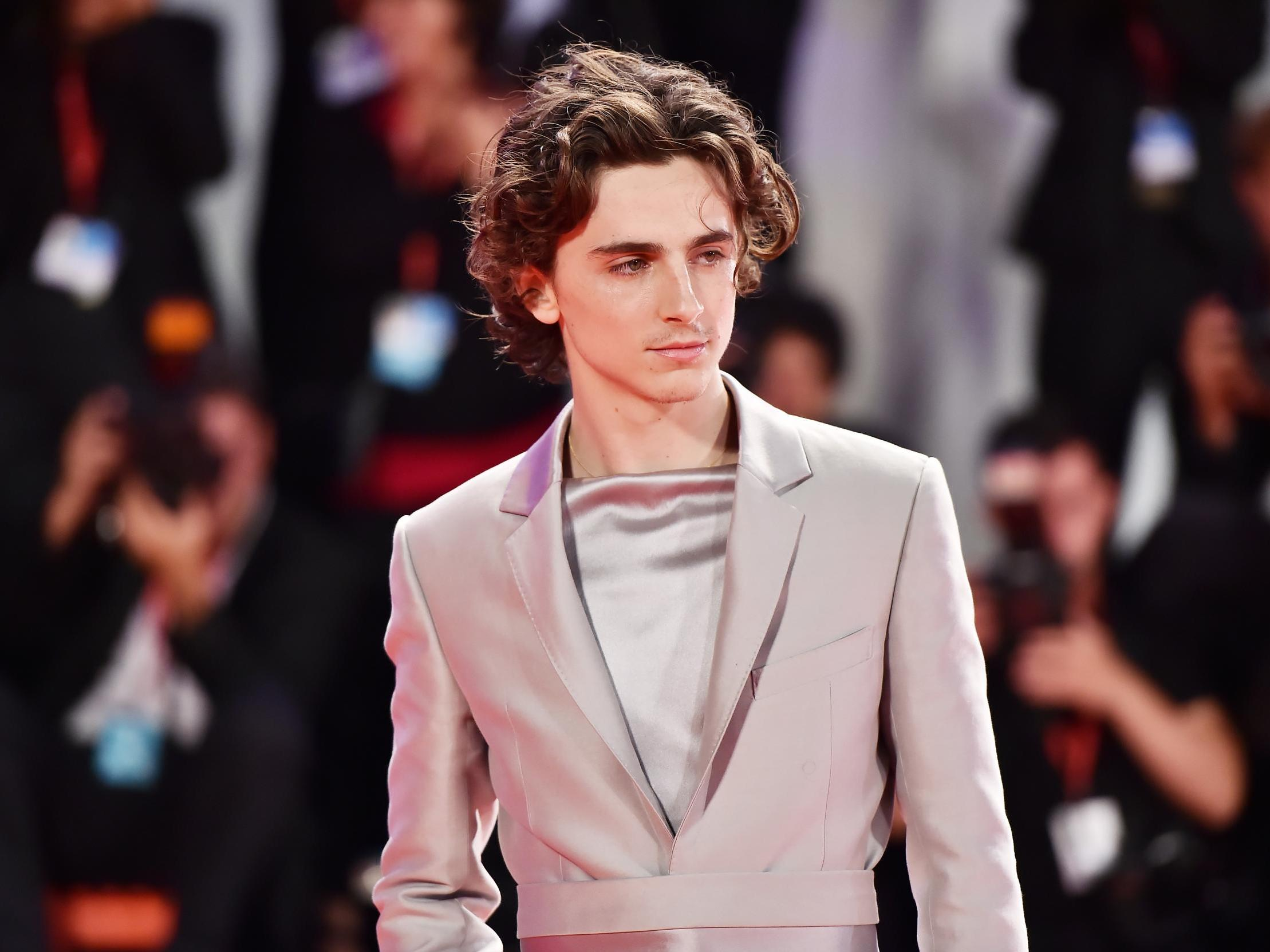 Timothée Chalamet's best red carpet looks, from his patterned suits to that harness