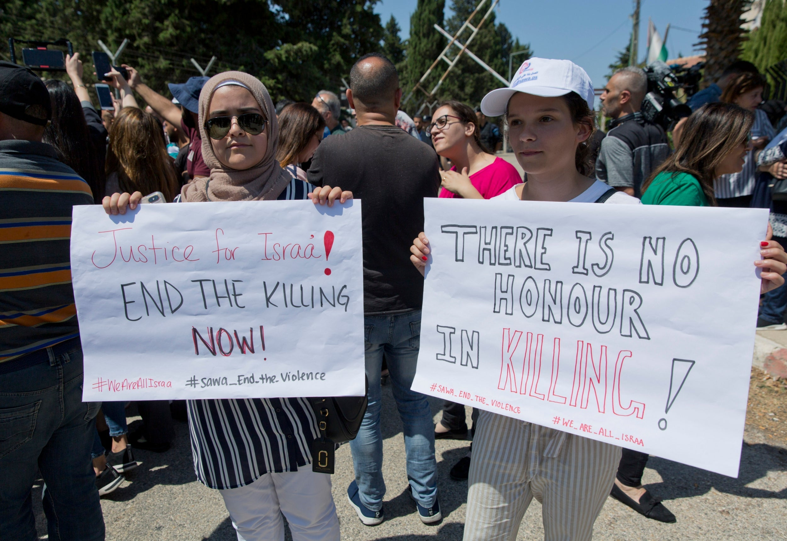 Suspected honour killing of 21-year-old woman sparks Palestinian protests