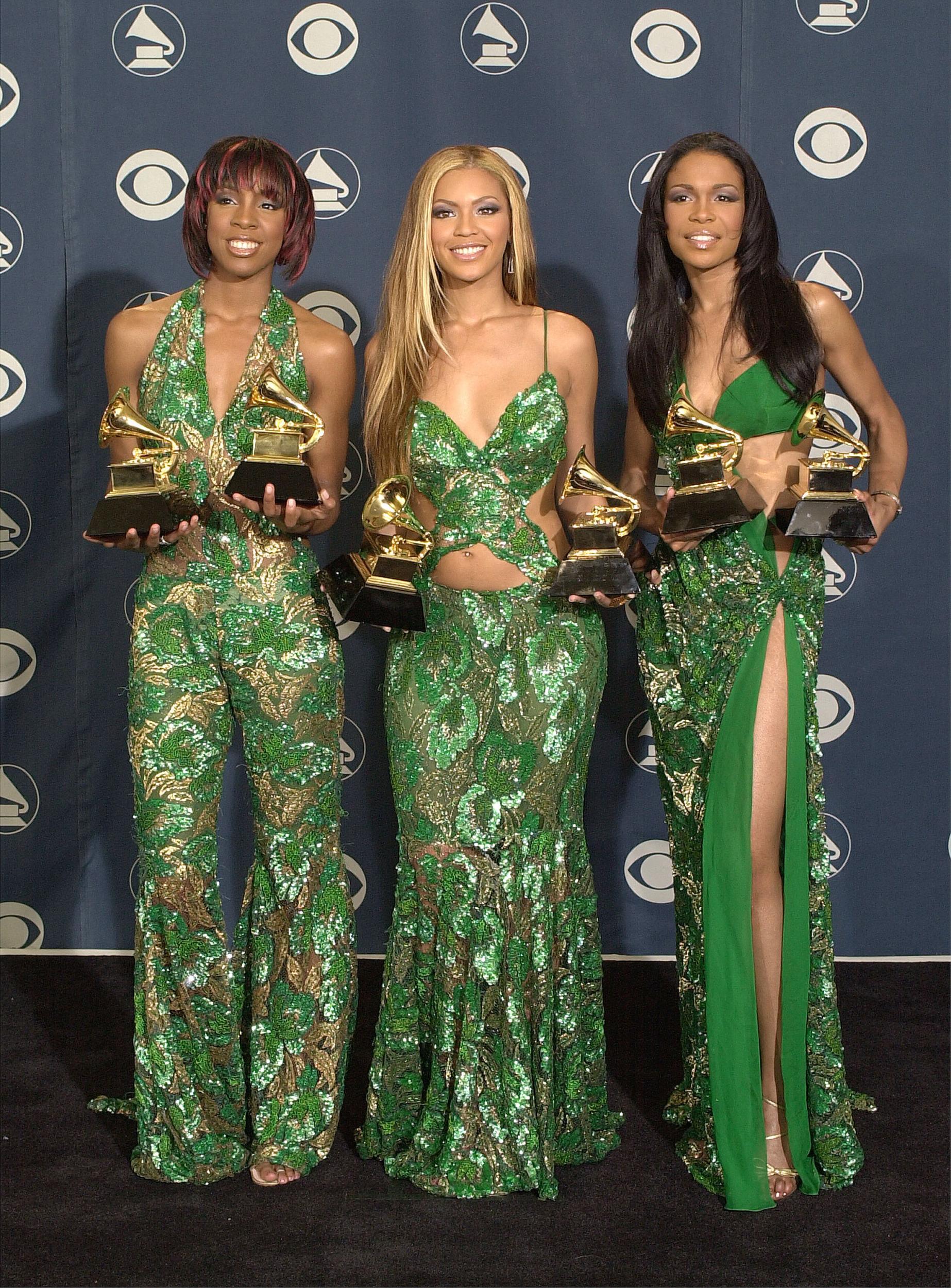 43rd Grammy Awards, February 2001