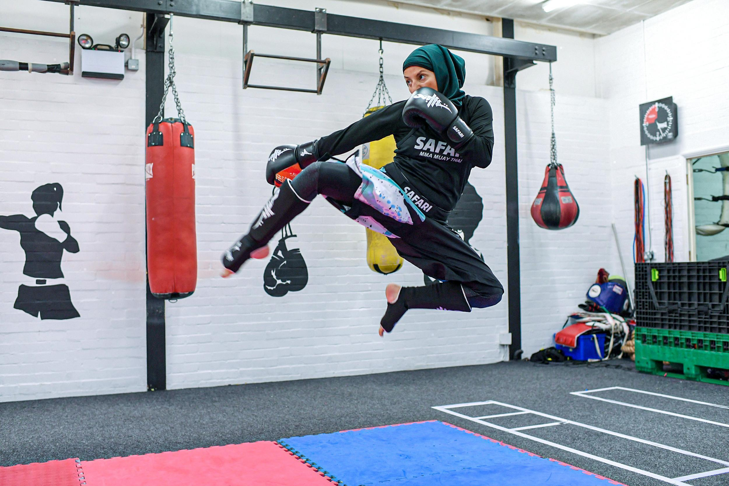 The Movers List: Khadijah Safari is helping women smash through the barriers by bringing religion and MMA together