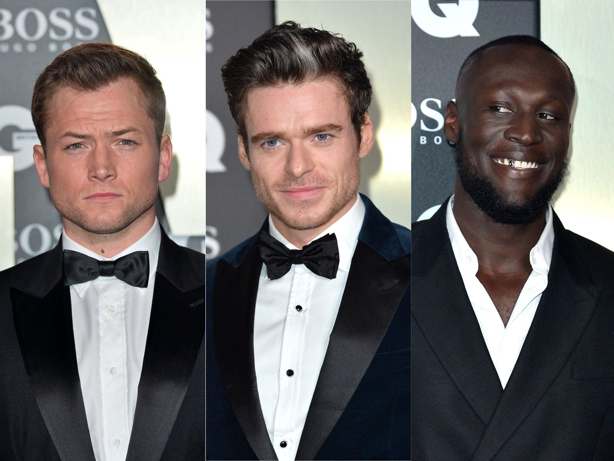 GQ Men of the Year Awards: Taron Egerton, Richard Madden and Andrew Scott win top prizes
