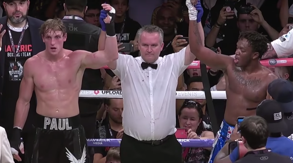 KSI vs Logan Paul rematch: Fight between YouTube stars to be contested in cruiserweight division