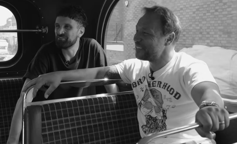 Kasabian's Serge Pizzorno and actor Stephen Graham interview each other