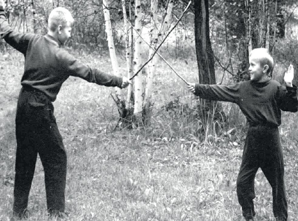 'I used to practise fencing with my older brother Alexey'