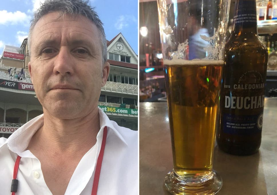 Australian cricket journalist charged £55,000 for bottle of