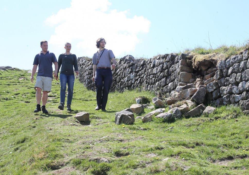 Police scramble to Hadrian's Wall to stop 'nighthawk' metal