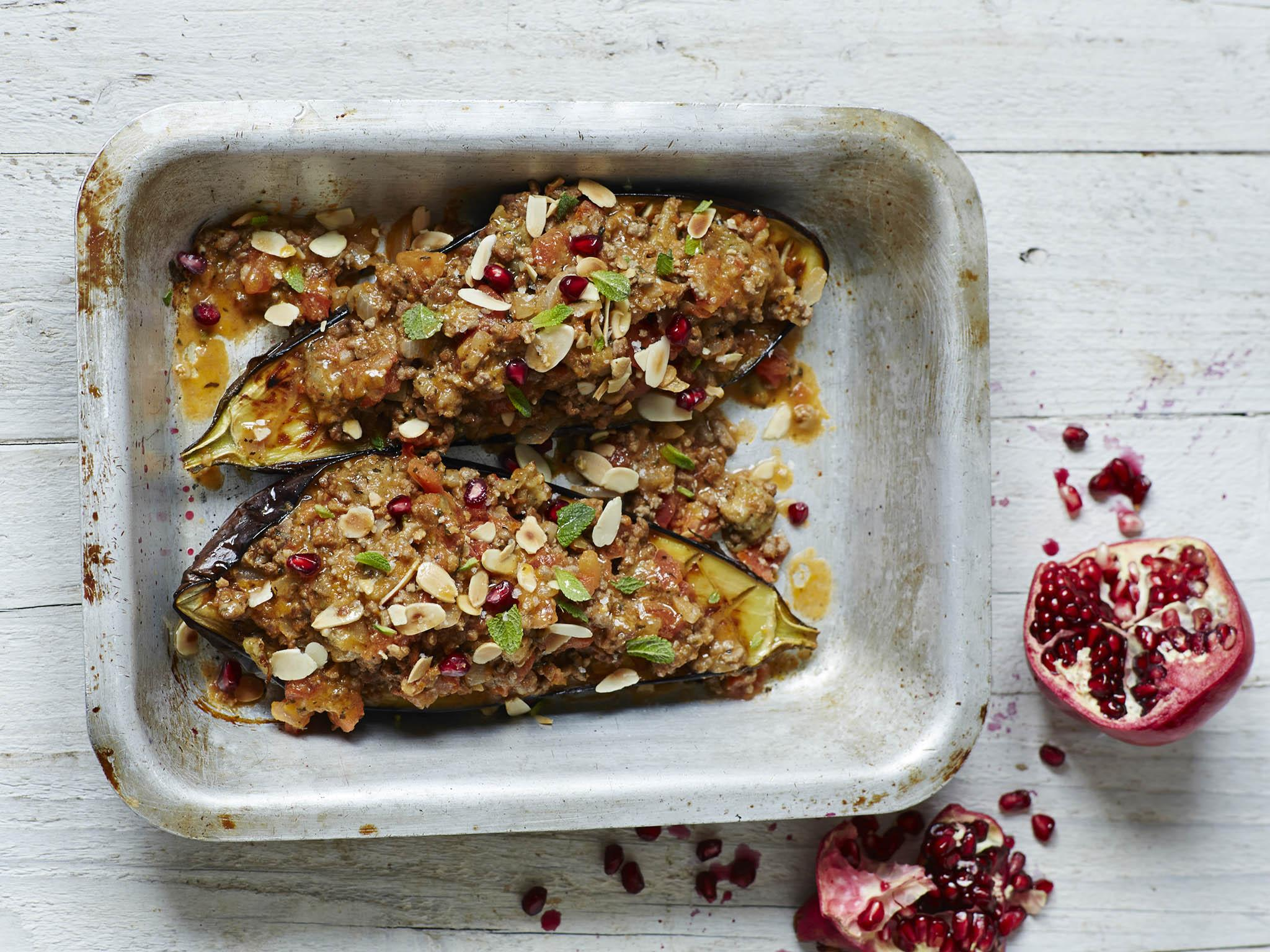 Four ways to cook with aubergines in September 1