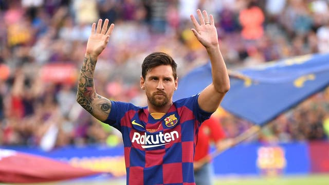 With a rating of 94, the Barcelona legend beat Cristiano Ronaldo to the top spot