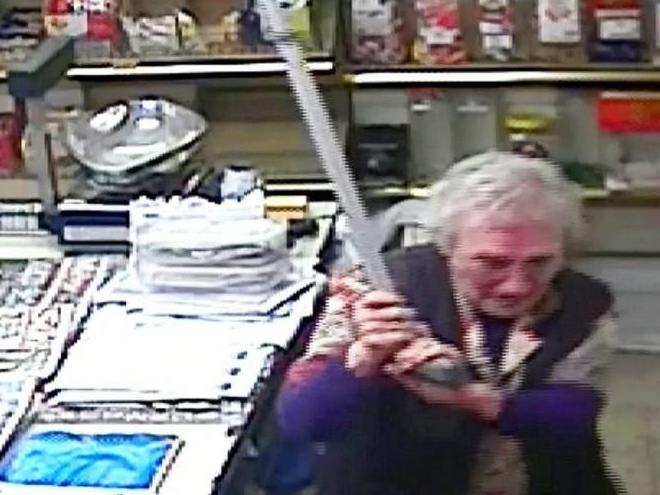 Shopkeeper, 82, fights off robber by bashing him with walking stick