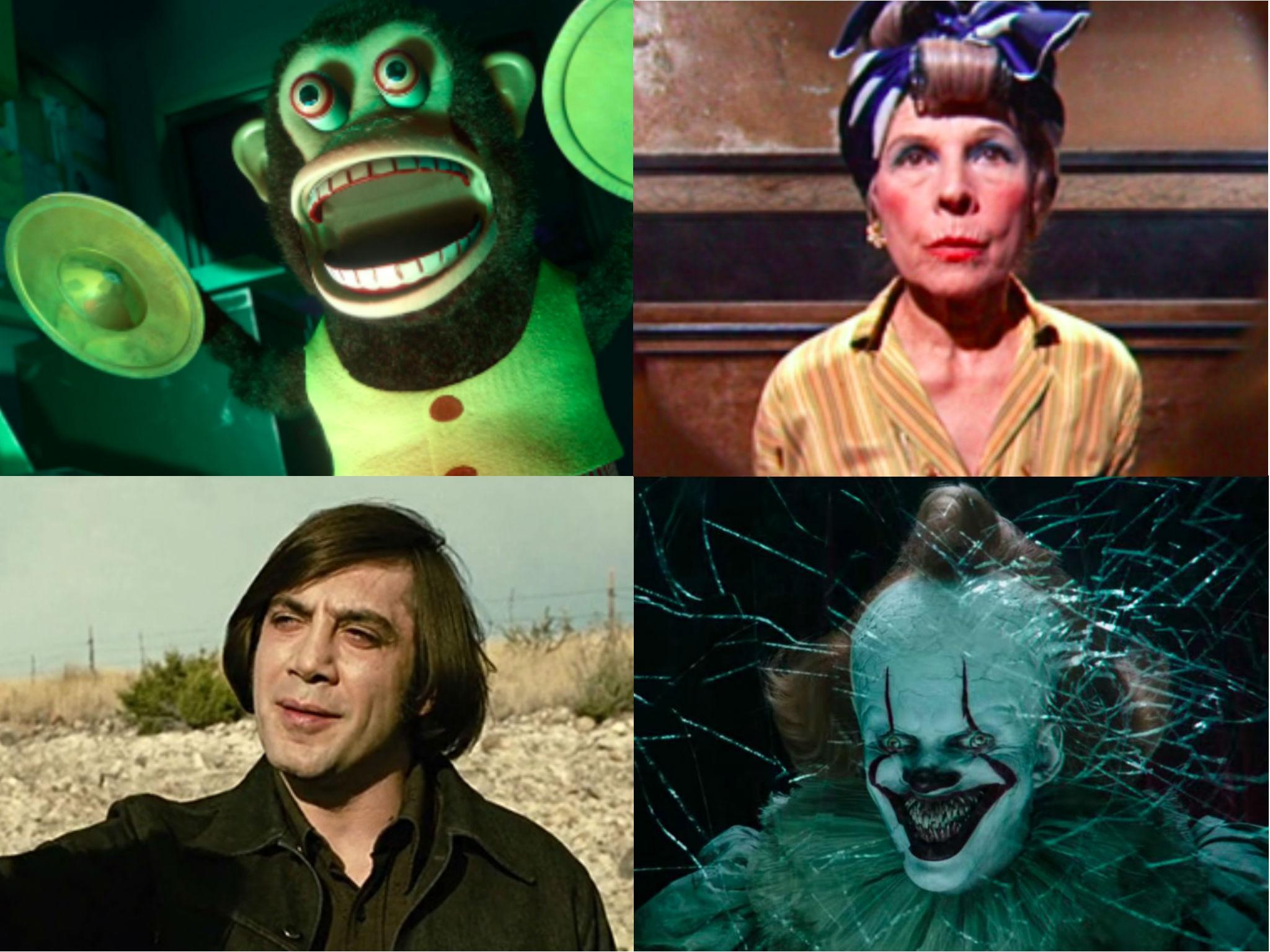 39 movie characters that gave us nightmares