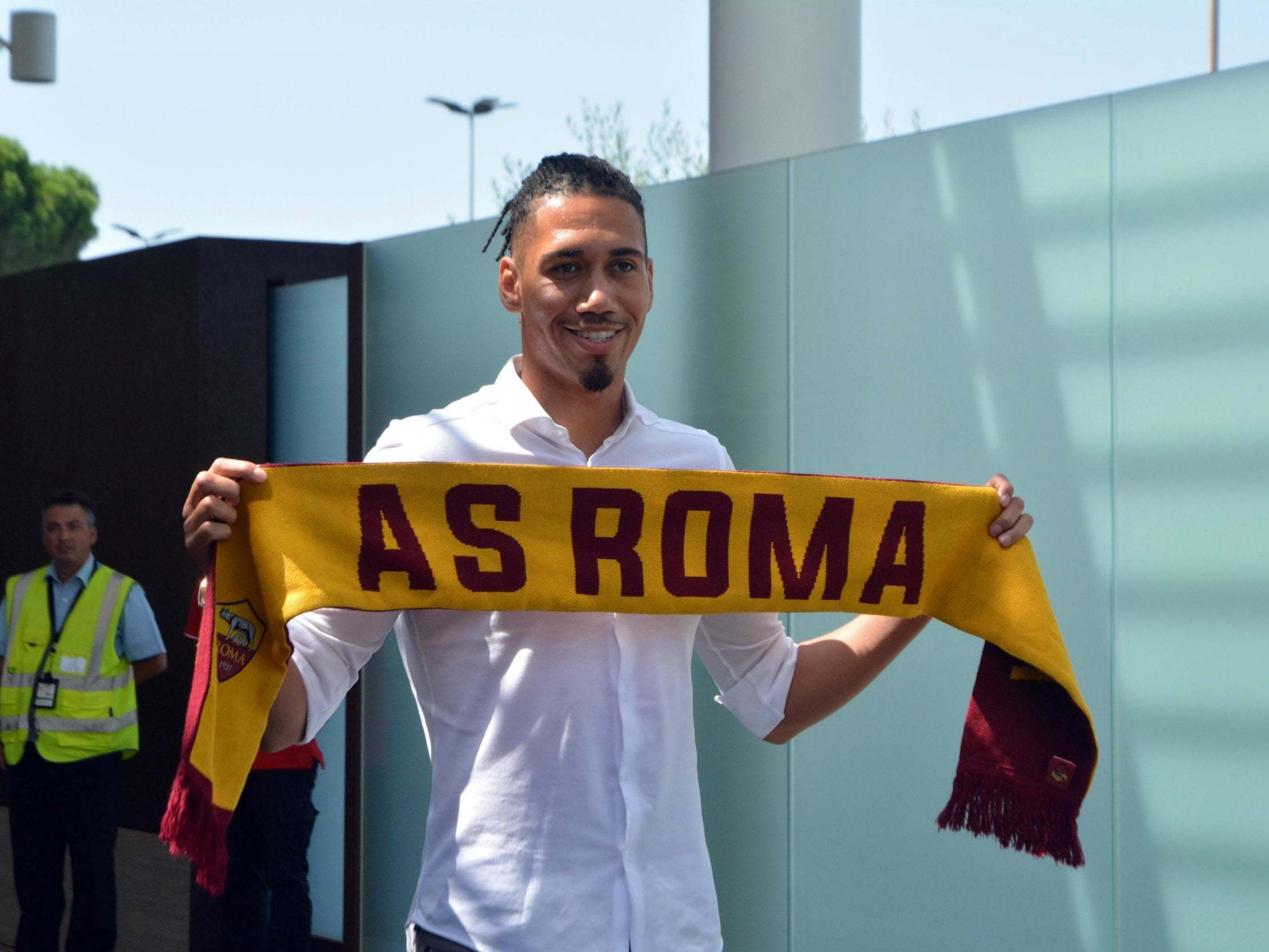 Manchester United news: Chris Smalling sees future in Serie A after joining AS Roma on loan