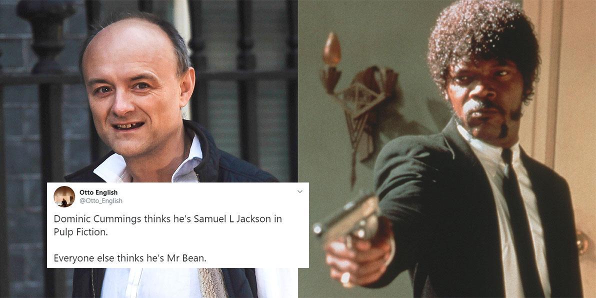 Dominic Cummings: Boris Johnson adviser \'quotes Pulp Fiction ...