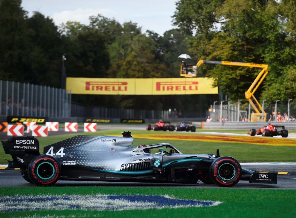 Italian Grand Prix Lewis Hamilton Says Monza F1 Pole Farce Marks Dangerous Trend The Independent The Independent