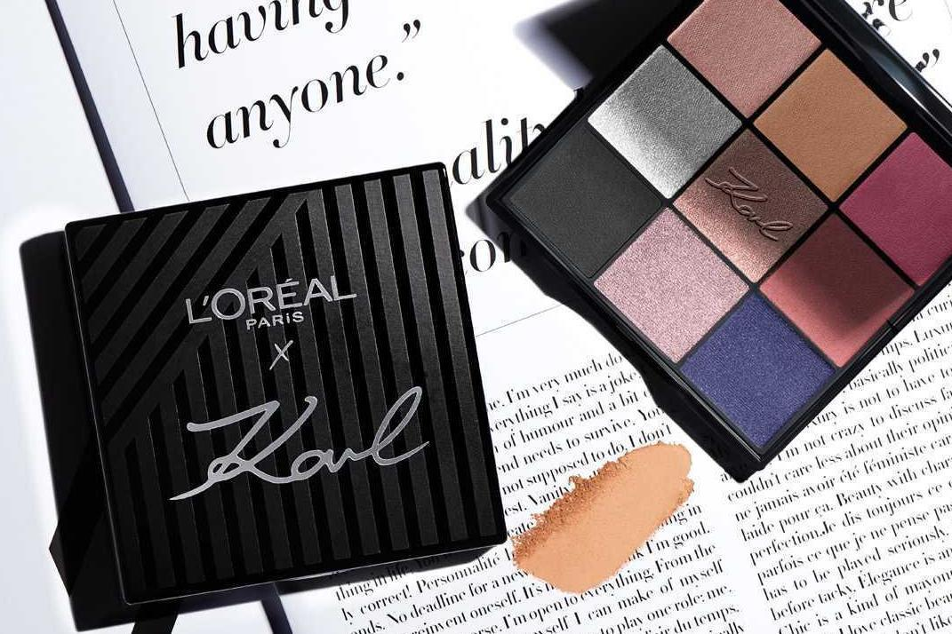 Karl Lagerfeld x L'Oréal Paris: First look at the upcoming