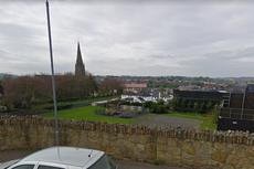 Man arrested under terrorism act after bomb found on Irish border