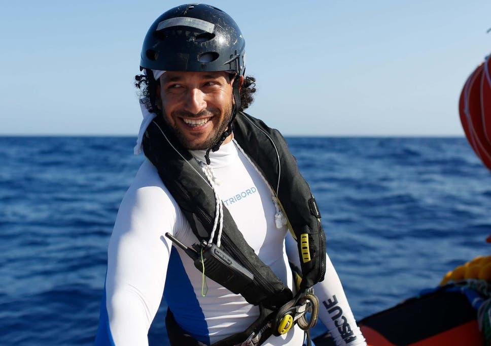 Hassan Ali Salem at sea