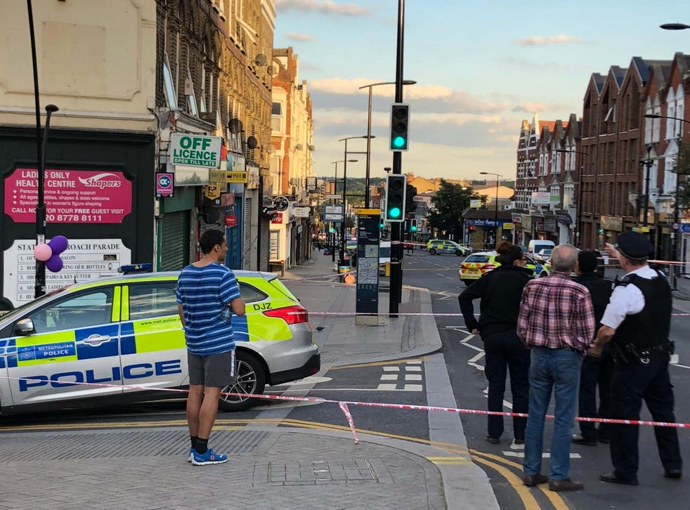 Man died shortly after he was found with gunshot wounds in south-east London.