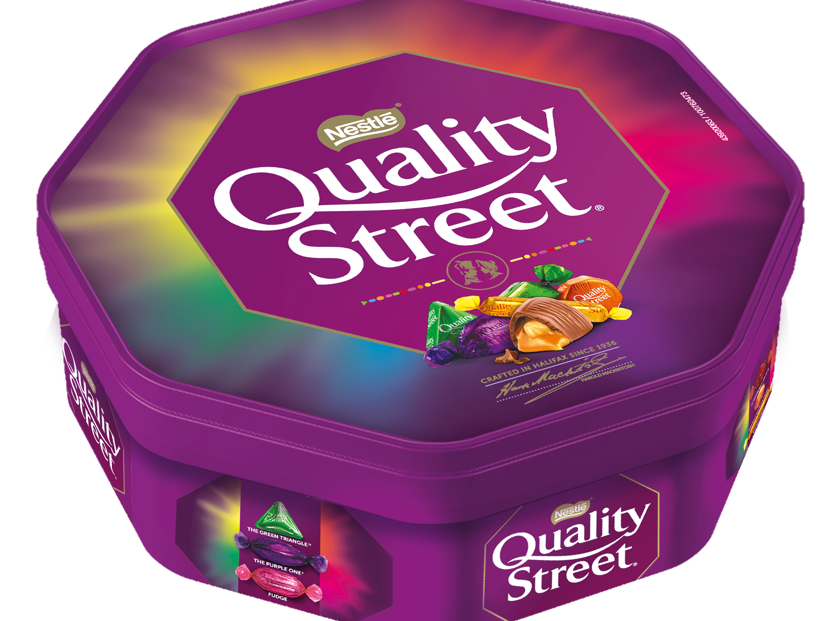 Quality Street tubs shrink again as new chocolate added to mix 1
