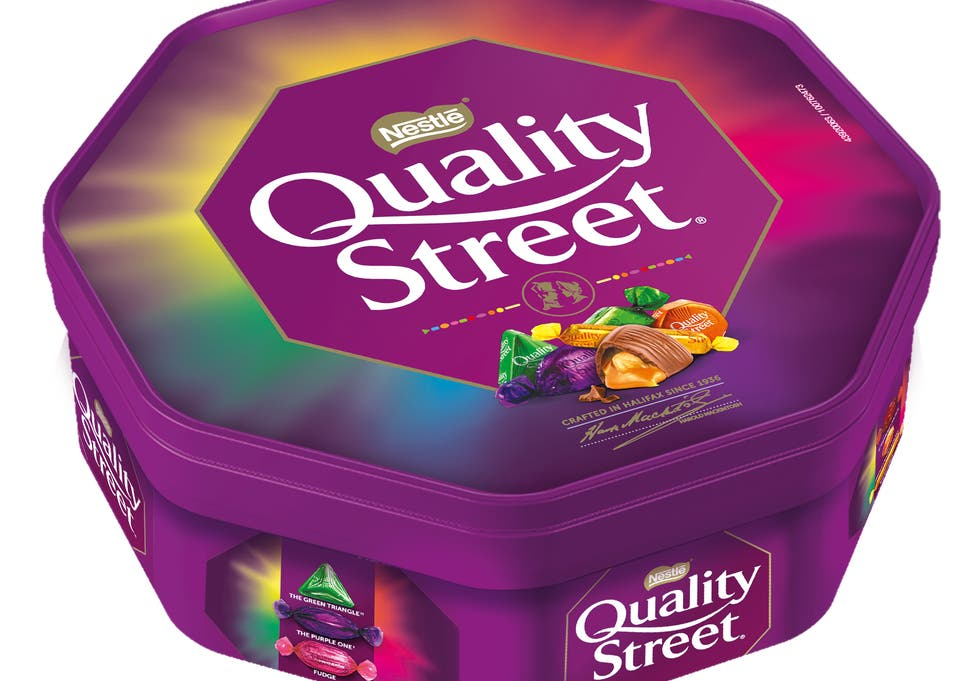 Quality Street Tubs Shrink Again As New Chocolate Added To