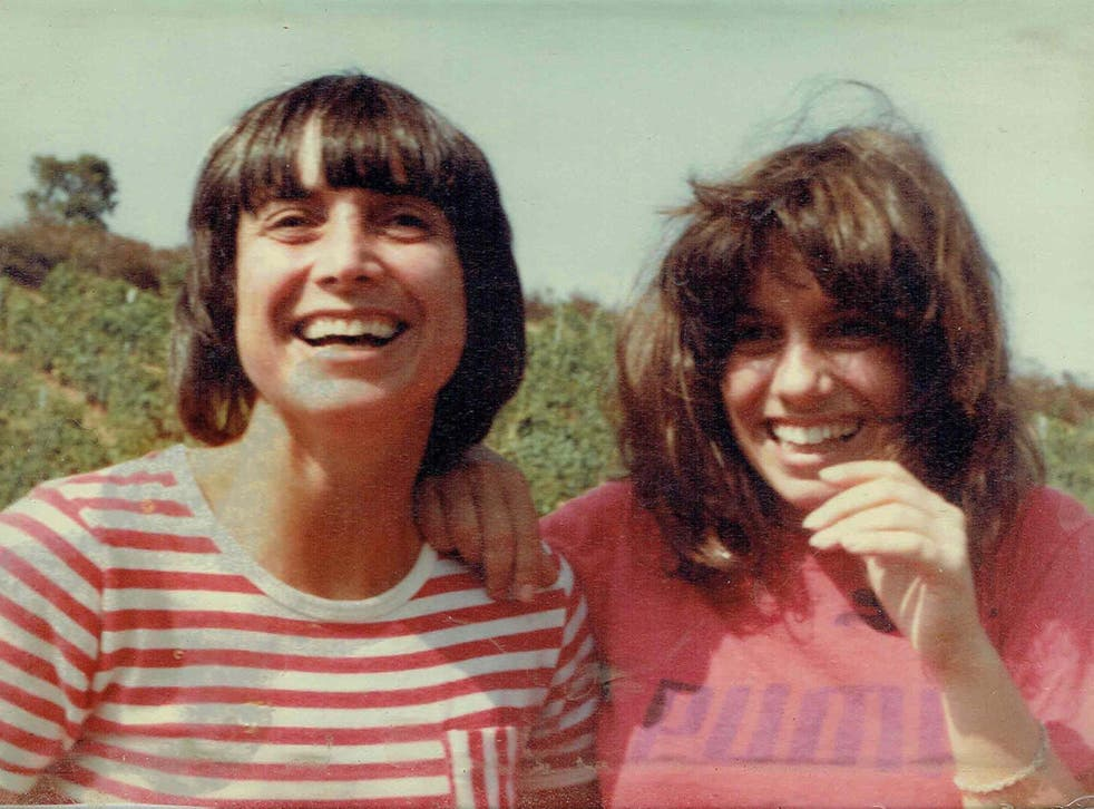 Kate (right) and her mother, Nancy