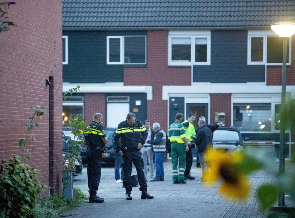 Police investigate after three people were killed at a house