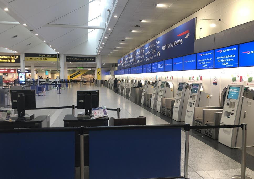 British Airways pilots' strike: Day one ends in acrimony