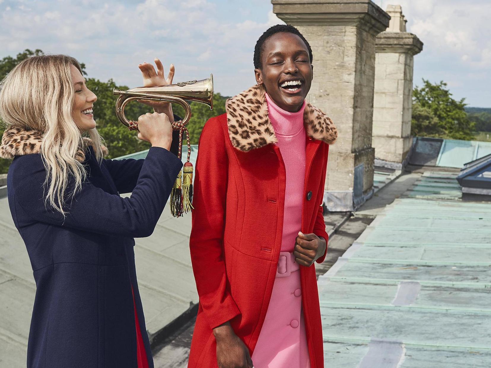 Boden launches coat collection inspired by 'remarkable' historical British women