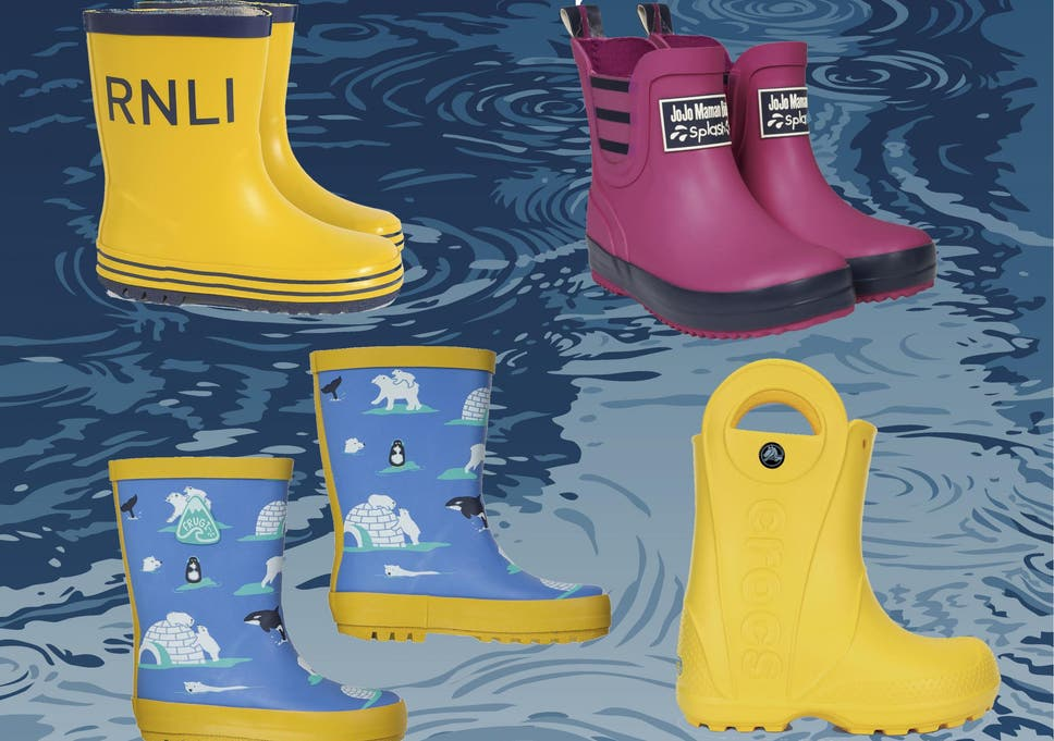 Best kids wellies to stay dry during puddle-stomping fun