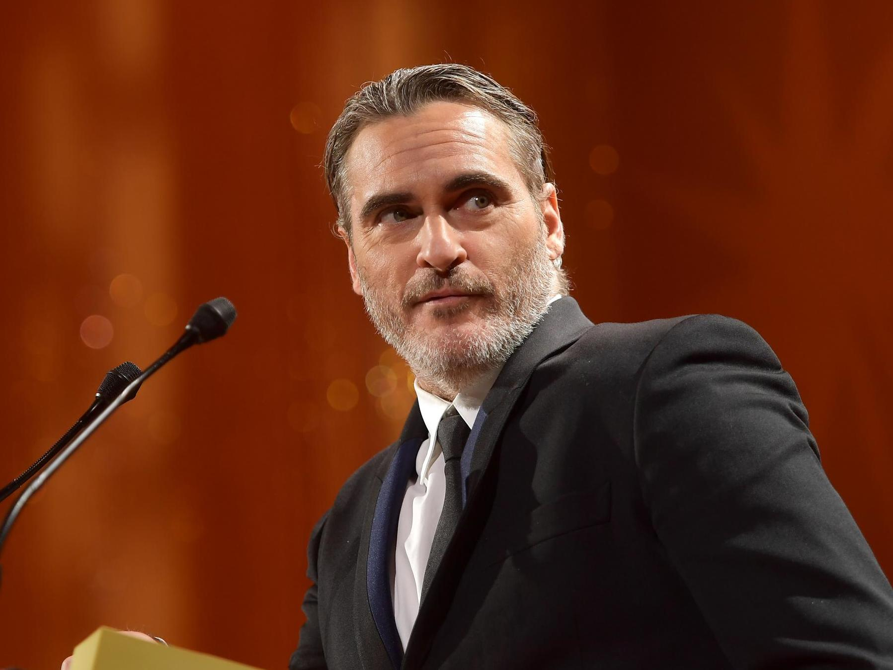 Joaquin Phoenix makes rare mention of late brother River during emotional speech at TIFF
